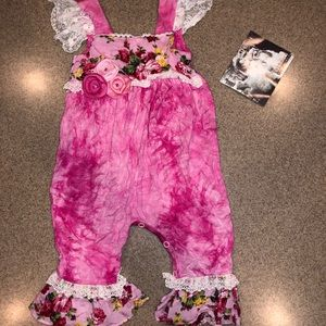 cach cach One Pieces - 12 mos NWT cach cach one piece   Pink tie dye